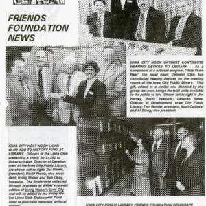 1993 April Friends Foundation News