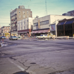100-Block South Clinton Street, Rosheks Department Store, 1970-1976