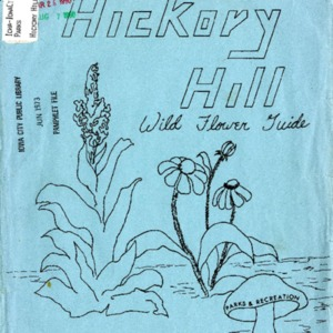 Hickory Hill Park Wild Flower Guide