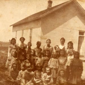 Liberty #5 School, Oak Grove, date unknown